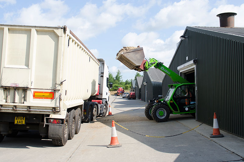 Muck and haulage services